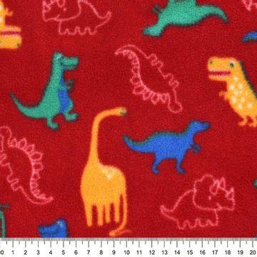 Tecido-Microsoft-Estampado-Dinossauro-Fundo-Vermelho