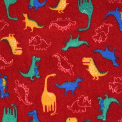 Tecido-Microsoft-Estampado-Dinossauro-Fundo-Vermelho-9005