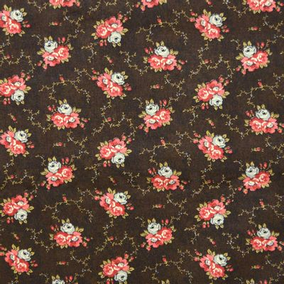 Tecido-Tricoline-Floral-Marilyn-Monroe-Fundo-Marrom-9190