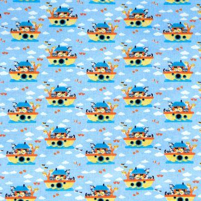 Tecido-Tricoline-Animais-Arca-de-Noe-Fundo-Azul-9236