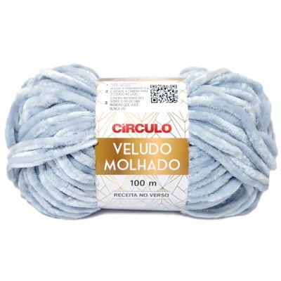 La-Veludo-Molhado-Circulo-100g-Cor-2789-Cinza-Medio-Della-Aviamentos