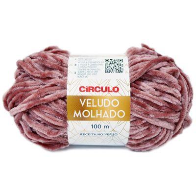 La-Veludo-Molhado-Circulo-100g-Cor-844-Rosa-Antigo-Della-Aviamentos