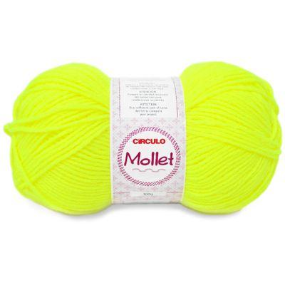 La-Mollet-Circulo-100g-Cor-780-Amarelo-Neon-Della-Aviamentos