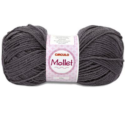 La-Mollet-Circulo-100g-Cor-7417-Chumbo-Della-Aviamentos