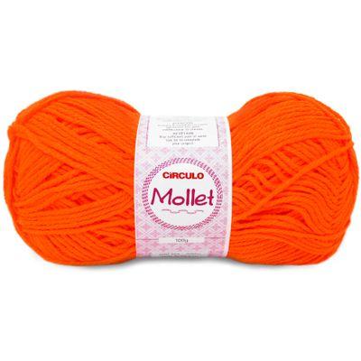La-Mollet-Circulo-100g-Cor-782-Laranja-Fluorescente-Della-Aviamentos
