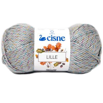 La-Lille-Cisne-100g-Cor-398-Cinza-Colorido-Della-Aviamentos
