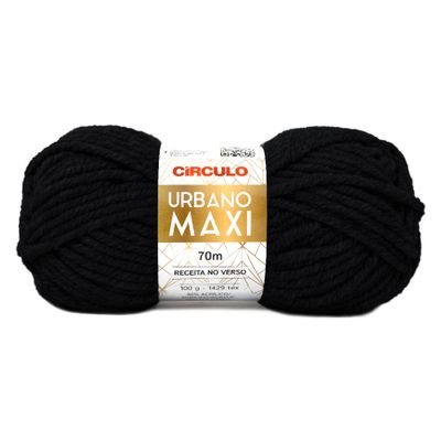La-Urbano-Maxi-Circulo-100g-Cor-8990-Preto-Della-Aviamentos