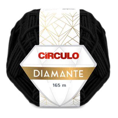 La-Diamante-Circulo-100g-Cor-8990-Preto-Della-Aviamentos