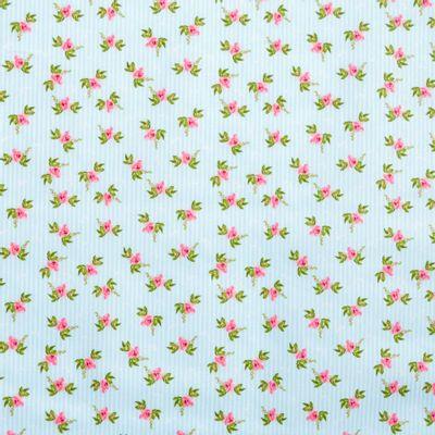 Tecido-Tricoline-Floral-Fundo-Listrado-Azul-Della-Aviamentos-9374