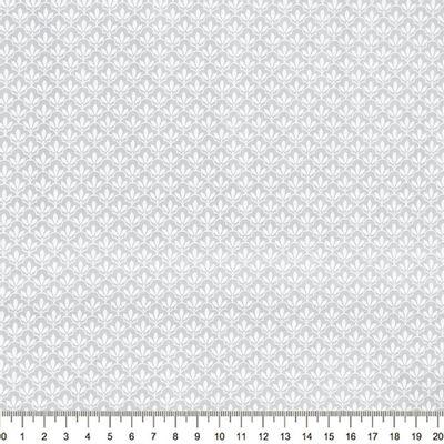 Tecido-Tricoline-Textura-Folha-Branca-Fundo-Cinza-Della-Aviamentos