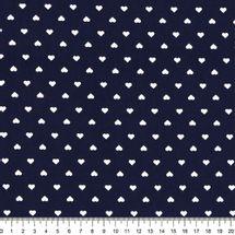 Tecido-Tricoline-Coracao-Branco-Fundo-Azul-Marinho-Della-Aviamentos
