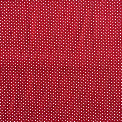 Tecido-Tricoline-Poa-Branco-Fundo-Vermelho-Della-Aviamentos-9073