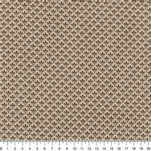 Tecido-Tricoline-Textura-Folha-Marrom-Fundo-Bege-Della-Aviamentos