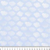 Tecido-Tricoline-Nuvem-Branca-Fundo-Azul-Della-Aviamentos