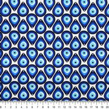 Tecido-Tricoline-Olho-Grego-Fundo-Branco-Della-Aviamentos