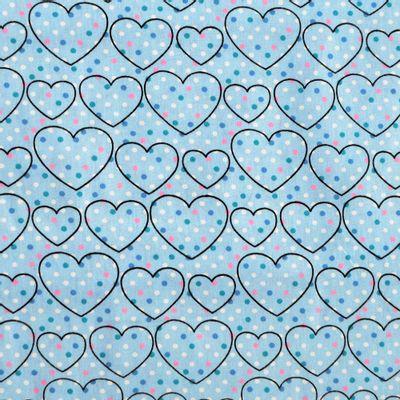 Tecido-Tricoline-Coracao-com-Poa-Fundo-Azul-Della-Aviamentos-9293
