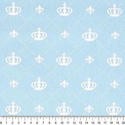 Tecido-Tricoline-Coroa-Grande-Fundo-Azul-Bebe-Della-Aviamentos