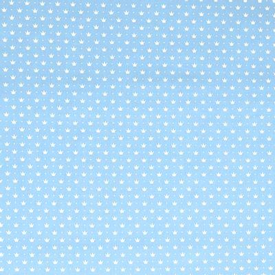 Tecido-Tricoline-Coroa-Pequena-Fundo-Azul-Bebe-Della-Aviamentos-9365
