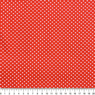 Tecido-Tricoline-Poa-Branco-Fundo-Vermelho-Papaia-Della-Aviamentos