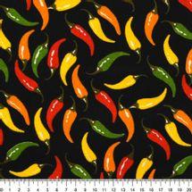 Tecido-Tricoline-Estampado-Pimentas-Coloridas-Fundo-Preto-Della-Aviamentos-9086