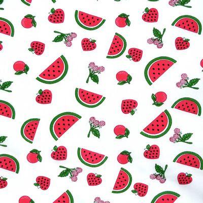 Tecido-Tricoline-Estampado-Frutas-Vermelhas-Fundo-Branco-Della-Aviamentos