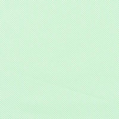 Tecido-Tricoline-Estampado-Poa-Pequeno-Branco-Fundo-Verde-Della-Aviamentos