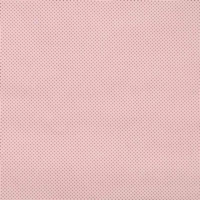 Tecido-Tricoline-Estampado-Poa-Pequeno-Marrom-Fundo-Rosa-Della-Aviamentos