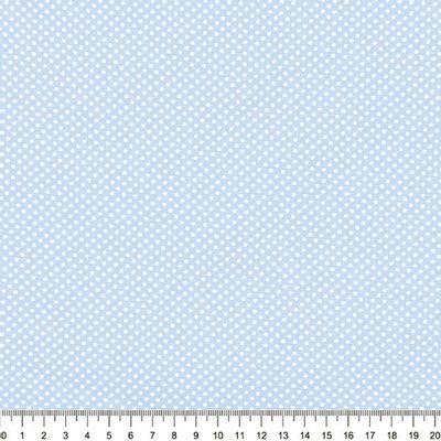 Tecido-Tricoline-Estampado-Poa-Pequeno-Branco-Fundo-Azul-Della-Aviamentos-9052