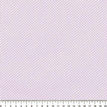 Tecido-Tricoline-Estampado-Poa-Pequeno-Branco-Fundo-Lilas-Della-Aviamentos-9057