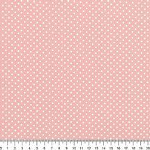 Tecido-Tricoline-Estampado-Poa-Mini-Branco-Fundo-Rose-Della-Aviamentos-8734