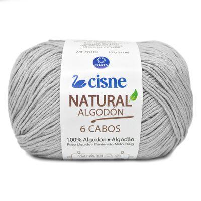 Linha-Natural-Algodon-Cisne-com-6-Cabos-100g-Cor-1080-Areia-Della-Aviamentos
