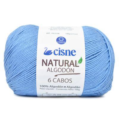 Linha-Natural-Algodon-Cisne-com-6-Cabos-100g-Cor-144-Azul-Serenity-Della-Aviamentos