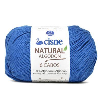 Linha-Natural-Algodon-Cisne-com-6-Cabos-100g-Cor-142-Azul-Escuro-Della-Aviamentos