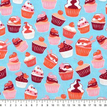 Tecido-Tricoline-Cupcake-Fundo-Azul-Della-Aviamentos-9490.