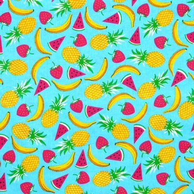 Tecido-Tricoline-Frutas-Diversas-Fundo-Azul-Della-Aviamentos-9488