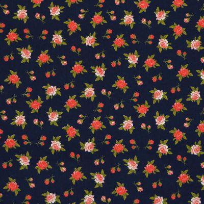 Tecido-Tricoline-Floral-Rosas-Fundo-Azul-Marinho-Della-Aviamentos-9475