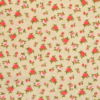 Tecido-Tricoline-Floral-Rosas-Fundo-Verde-Della-Aviamentos-9473