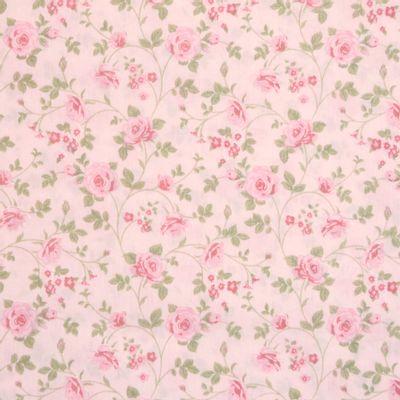 Tecido-Tricoline-Floral-Rosas-Medias-Fundo-Rosa-Claro-Della-Aviamentos-9469