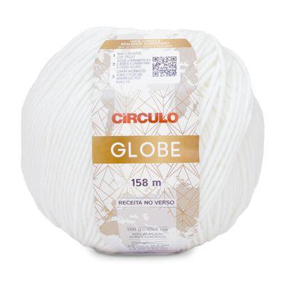 Fio-Globe-Circulo-200-g-Cor-8001-Branco-Della-Aviamentos