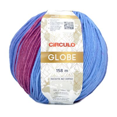 Fio-Globe-Circulo-200-g-Cor-9688-Maravilha-Della-Aviamentos