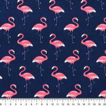 Tecido-Tricoline-Flamingo-Fundo-Azul-Marinho-9634.