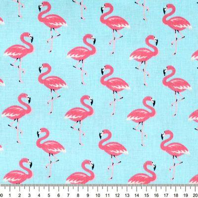 Tecido-Tricoline-Flamingo-Fundo-Azul-Claro-9633.
