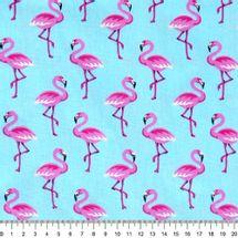 Tecido-Tricoline-Flamingo-Fundo-Azul-9632.