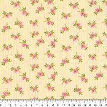Tecido-Tricoline-Floral-Fundo-Listrado-Amarelo-Della-Aviamentos-9484.