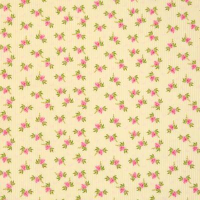 Tecido-Tricoline-Floral-Fundo-Listrado-Amarelo-Della-Aviamentos-9484