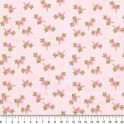 Tecido-Tricoline-Floral-Fundo-Listrado-Rosa-Della-Aviamentos-9483.