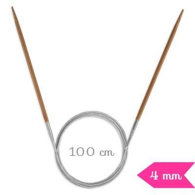 Agulha-de-Trico-Circular-Bambu-Circulo-100-cm-40-mm-Della-Aviamentos