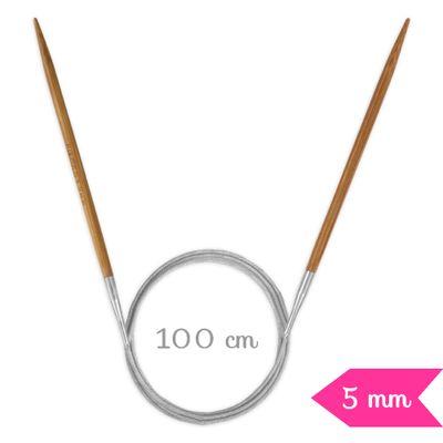 Agulha-de-Trico-Circular-Bambu-Circulo-100-cm-50-mm-Della-Aviamentos