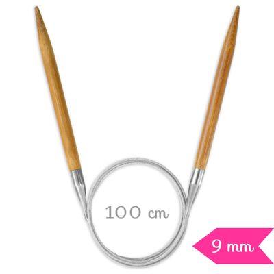 Agulha-de-Trico-Circular-Bambu-Circulo-100-cm-90-mm-Della-Aviamentos