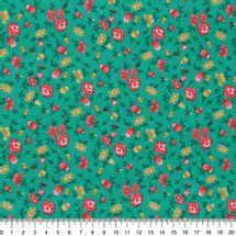 Tecido-tricoline-floral-mini-fundo-verde-Della-Aviamentos-9705.